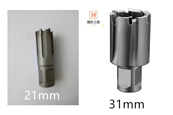 Specifications and Types of Cemented Carbide Rail Hollow Drill Bits